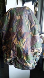 Pláštěnka na batoh až 80l, britský maskovací vzor DPM