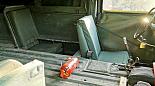 HMMWV hummer Humvee pickup 4 místa