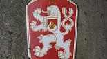 Smaltovaný státní znak ČSSR