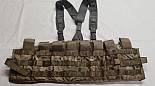 US Army MultiCam Tactical Assault Panel, TAP vesta, Chest Rig