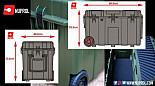 NP Kit Box Hard Case pískový