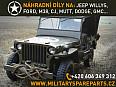 Náhradní díly na Jeep Willys MB, Ford GPW