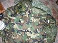 WDL rain suit U.S. Army bunda do děště a chladného počasí woodland