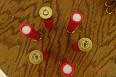 Černopraché brokové náboje ráže  24/65 brok 3 mm