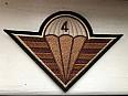 Nášivka 4. brigády rychlého nasazení pouštní