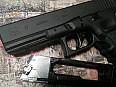 Glock 17 vzduchová pistole na Co2, broky 4,5 mm
