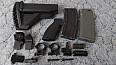 pažba pažbička pistol grip HK Heckler & Koch 416 417 E1 M4 AR15 M16 flash hider tlumič plamene výšlehák VFC UMAREX Colt SHS mířidla montážní kroužky