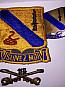 Důstojnické odznaky 14.kavalerie US army