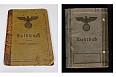 KOUPÍM Soldbuch Wehrpass Vojenskou knížku