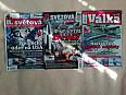 různě časopisy s vojenskou tematikou
