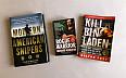 Knihy Modern American Snipers, Kill Bin Laden, Rogue Warrior