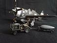 P-47 Thunderbolt + letištní traktor 1/72
