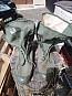 Vojenské plátěné boty-invazky