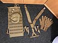 Přebytek výstroje USMC Breacher Kit Carrier, Řemení