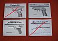 Návod Walther PP/ppk, Parabellum p08, CZ27, SA 24 v cz