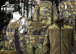 Prvotřídní oblečení a výstroj od českého výrobce