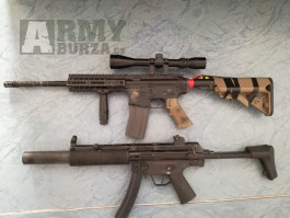 M4 Specna Arms+Mp5Sd6SRC