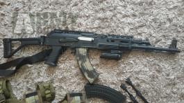 AK-74U tactical (celokov) + všechno ostatní