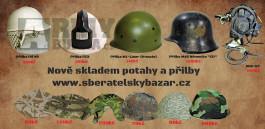 Výprodej vojenského materiálu zavěděcí ceny