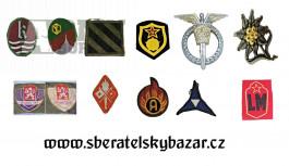 Prodám ruzné Odznaky a nášivky