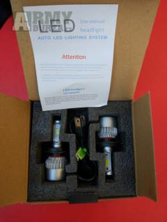 Led Xenon H7, H1 nebo H4 s větráčkem- nová generace supersvítivých LED autožárovek do hlavních světlometů s paticí H7 nebo H4