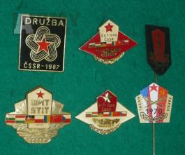 Odznaky cvičení Varšavské Smlouvy