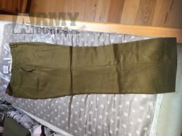 US kalhoty M37 - WWII - US army
