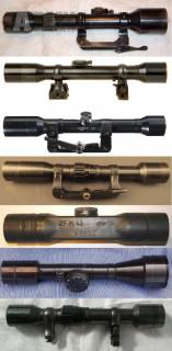 Kopím válečné puškohledy