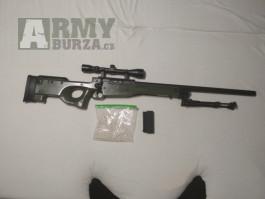 Dobrý den prodávám airsoftovou odstřelovací pušku l96 awp whell