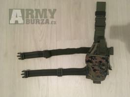 Stehenní pouzdro na pistoli MARPAT