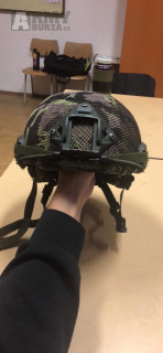Balistická helma