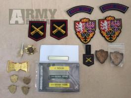 Odznaky, nášivky