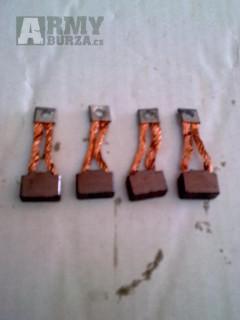 UAZ 469,3151,31512,452,GAZ 21,24 Uhliky štartéra sada 4ks