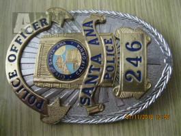 Originální policejní služební odznaky USA