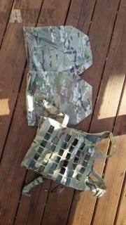 Crye precision Airlite plate carrier  Multicam