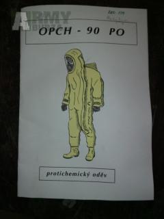 Oblek protichemický OPCH-90
