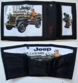 Peněženka Jeep Willis