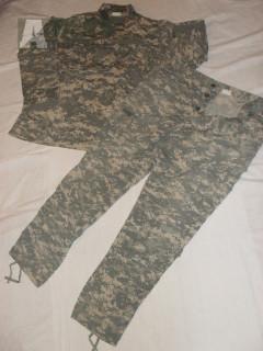 US Army ACU UCP uniforma, maskáče