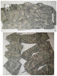 US Army ACU UCP samotné blůzy a kalhoty, maskáče