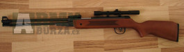 Vzduchovka s puškohledem 4x20 B-3-4