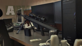 Barrett M82A1 CQB Custom