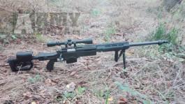 Prodám airsoftovou odstřelovací pušku