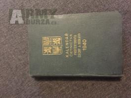 Kalendář Četnictva PROTEKTORAT 1940