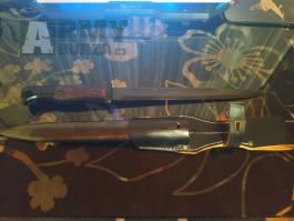 Replika bodáku Mauser K98