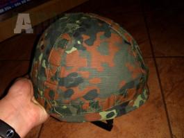 Prodám nové chrániče kolen a helmu obojí je v motivu Flecktarn