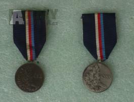 Medaile Za statečnost - oba typy