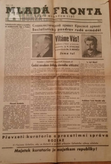 Noviny z 9.května a další zajímavé