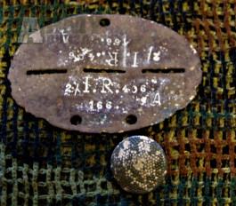Identifikační známka vojáka Wehrmachtu