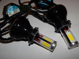 Led Xenon H7 výsoké kvality s větráčkem. Nehlási chýby !!!