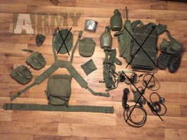Vietnam war - US Army výstroj ORIGINÁL